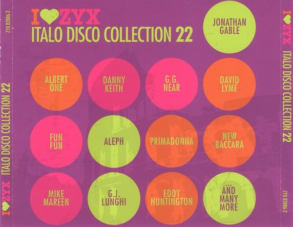 VA - ZYX Italo Disco Collection Vol. 22 (3CD) 2016